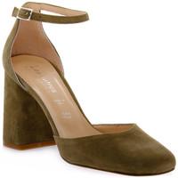 Pantofi Femei Pantofi cu toc Priv Lab KAKY CAMOSCIO Verde