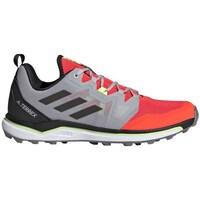 Pantofi Bărbați Drumetie și trekking adidas Originals Terrex Agravic Roșii, Gri