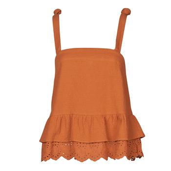 Îmbracaminte Femei Topuri și Bluze Betty London OULINE Maro ruginiu