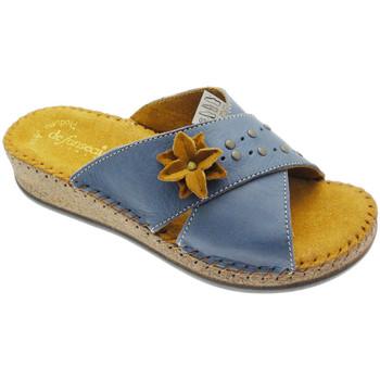 Pantofi Femei Papuci de vară De Fonseca DEFONEULALIAblu blu
