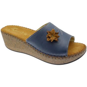 Pantofi Femei Papuci de vară De Fonseca DEFONDEVOTAblu blu