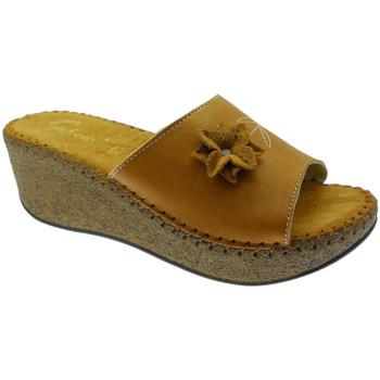Pantofi Femei Papuci de vară De Fonseca DEFONDEVOTAcuo marrone