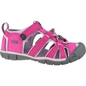 Pantofi Copii Sandale sport Keen Seacamp II Cnx JR Gri, Roz