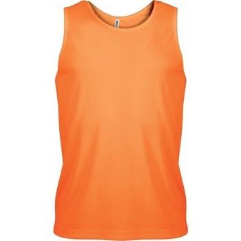 Îmbracaminte Bărbați Maiouri și Tricouri fără mânecă Proact Débardeur  Sport orange