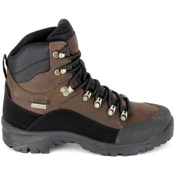 Pantofi Drumetie și trekking Aigle Sarenne Mid GTX Marron Maro
