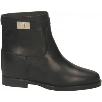 Pantofi Femei Botine Via Roma 15 TRONCH.LUCCHETTO nero