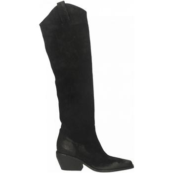 Pantofi Femei Cizme casual Elena Iachi WASH HOMBRE nero