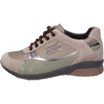 Pantofi Fete Sneakers Miss Sixty BK179 Bej