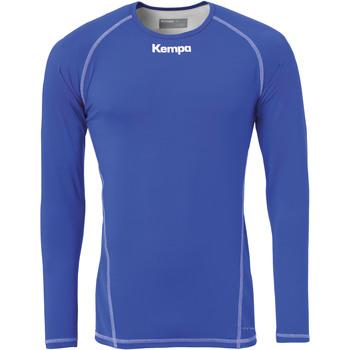 Îmbracaminte Bărbați Tricouri cu mânecă lungă  Kempa Maillot de compression ML  Attitude bleu roi