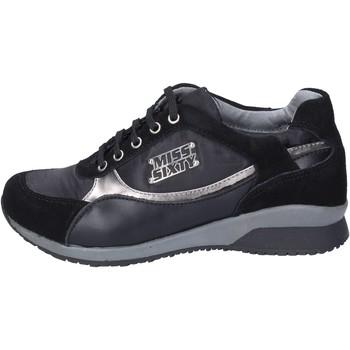 Pantofi Fete Sneakers Miss Sixty BK182 Negru
