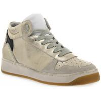 Pantofi Femei Multisport At Go GO 584 VELOUR GHIACCIO Bianco