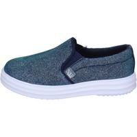 Pantofi Fete Pantofi Slip on Solo Soprani BK194 Albastru