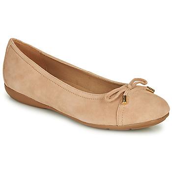 Pantofi Femei Balerin și Balerini cu curea Geox D ANNYTAH Roz