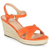 Pantofi Femei Pantofi sport Casual Geox D SOLEIL Portocaliu