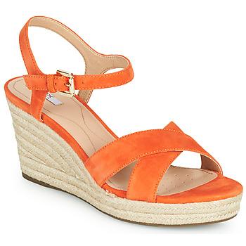 Pantofi Femei Sandale  Geox D SOLEIL Portocaliu