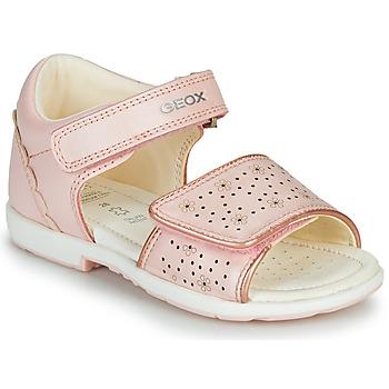 Pantofi Băieți Sandale  Geox B VERRED Roz