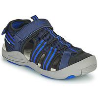 Pantofi Copii Sandale  Geox JR SANDALE KYLE Albastru
