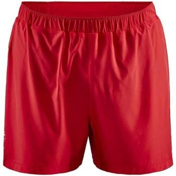 Îmbracaminte Bărbați Pantaloni scurti și Bermuda Craft Adv Essence 5 Stretch Roșii