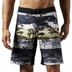 Îmbracaminte Bărbați Pantaloni scurti și Bermuda Reebok Sport One Series Sublimated Alb, Gri, Grafit