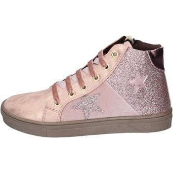 Pantofi Fete Sneakers Asso BK216 Roz