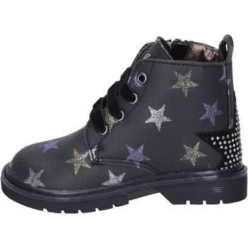 Pantofi Fete Botine Asso BK218 Negru