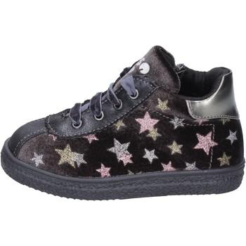 Pantofi Fete Sneakers Asso BK219 Gri