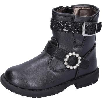 Pantofi Fete Botine Asso BK221 Negru