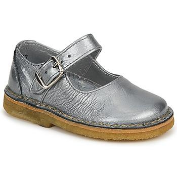 Pantofi Fete Balerin și Balerini cu curea Pinocchio LIANIGHT Argintiu