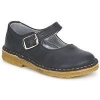 Pantofi Fete Balerin și Balerini cu curea Pinocchio LIANIGHT Bleumarin