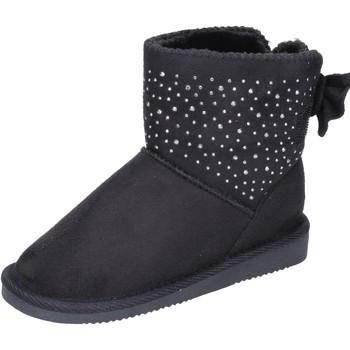 Pantofi Fete Botine Asso BK232 Negru