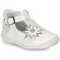Pantofi Fete Balerin și Balerini cu curea GBB EFIRA Alb
