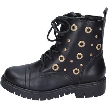 Pantofi Fete Botine Joli BK242 Negru