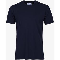 Îmbracaminte Bărbați Tricouri mânecă scurtă Colorful Standard CLASSIC ORGANIC TEE navy-blue-blu