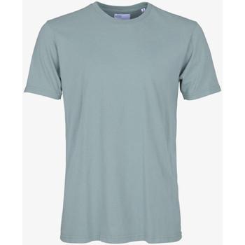 Îmbracaminte Bărbați Tricouri mânecă scurtă Colorful Standard CLASSIC ORGANIC TEE steel-blue
