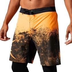 Îmbracaminte Bărbați Pantaloni trei sferturi Reebok Sport Splatter Short Negre,Portocalie