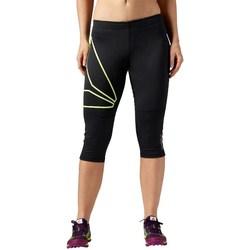 Îmbracaminte Femei Pantaloni  Reebok Sport 34 OS Running Capri Negre