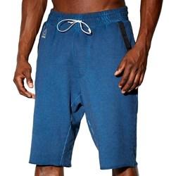 Îmbracaminte Bărbați Pantaloni trei sferturi Reebok Sport Combat Noble Fight Washed Albastre