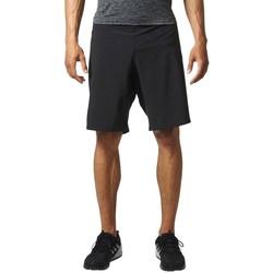 Îmbracaminte Bărbați Pantaloni trei sferturi adidas Originals Crazytrain Negre