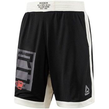 Îmbracaminte Bărbați Pantaloni trei sferturi Reebok Sport Combat Boxing Alb,Negre