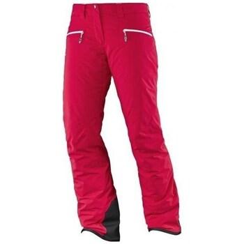 Îmbracaminte Femei Pantaloni  Salomon Whitecliff Gtx W Roșii