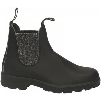 Pantofi Femei Ghete Blundstone BLUNDSTONE COLLECTION black-silver