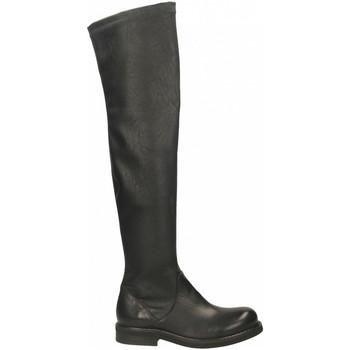 Pantofi Femei Ghete Mat:20 WEST/STRECH nero