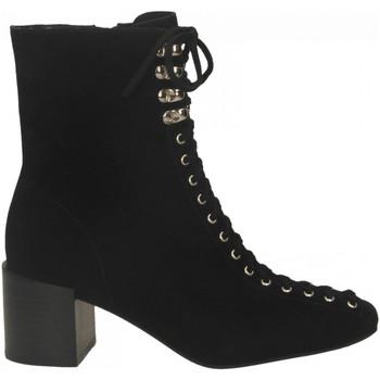 Pantofi Femei Botine Jeffrey Campbell BELMONDO-2 SUEDE black