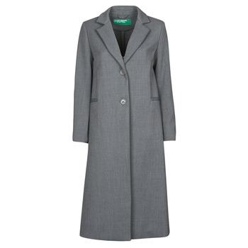 Îmbracaminte Femei Paltoane Benetton  Gri