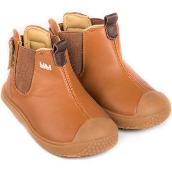 Pantofi Băieți Ghete Bibi Shoes Ghete Baieti Bibi Prewalker Caramel Maro