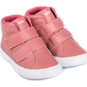 Pantofi Fete Ghete Bibi Shoes Ghete Fete Bibi Agility Mini Camelia Roz