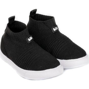 Pantofi Băieți Pantofi sport stil gheata Bibi Shoes Ghete Unisex Bibi Agility Knit Black Negru