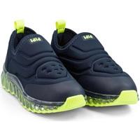 Pantofi Băieți Sneakers Bibi Shoes Pantofi Sport LED Bibi Roller Celebration Naval Bleumarin