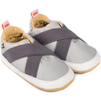 Pantofi Băieți Pantofi sport Casual Bibi Shoes Pantofi Baietei Bibi Afeto Joy Grafit Gri