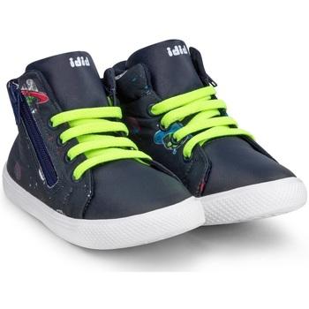 Pantofi Băieți Pantofi sport stil gheata Bibi Shoes Ghete Baieti Bibi Agility Mini Fun Space Bleumarin
